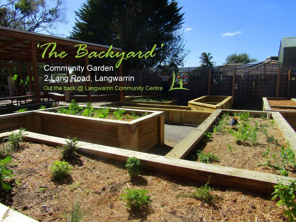 'THE BACKYARD' Community Garden